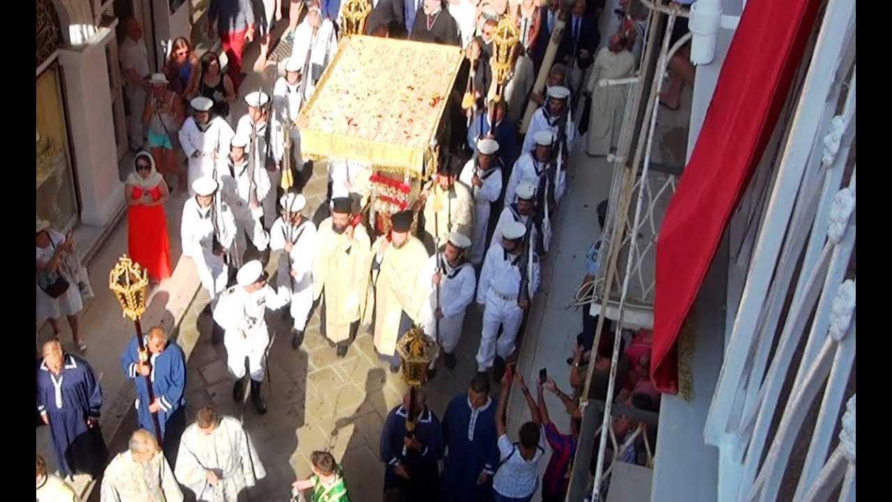 ΑΓΙΟΣ ΣΠΥΡΙΔΩΝ ΛΙΤΑΝΕΙΑ,  (11ης Αυγούστου) – ολόκληρη η Πομπή