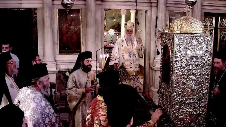 Ζωντανή Μετάδοση Ι.Προσκύνημα Αγίου Σπυρίδωνα, 31.10.20